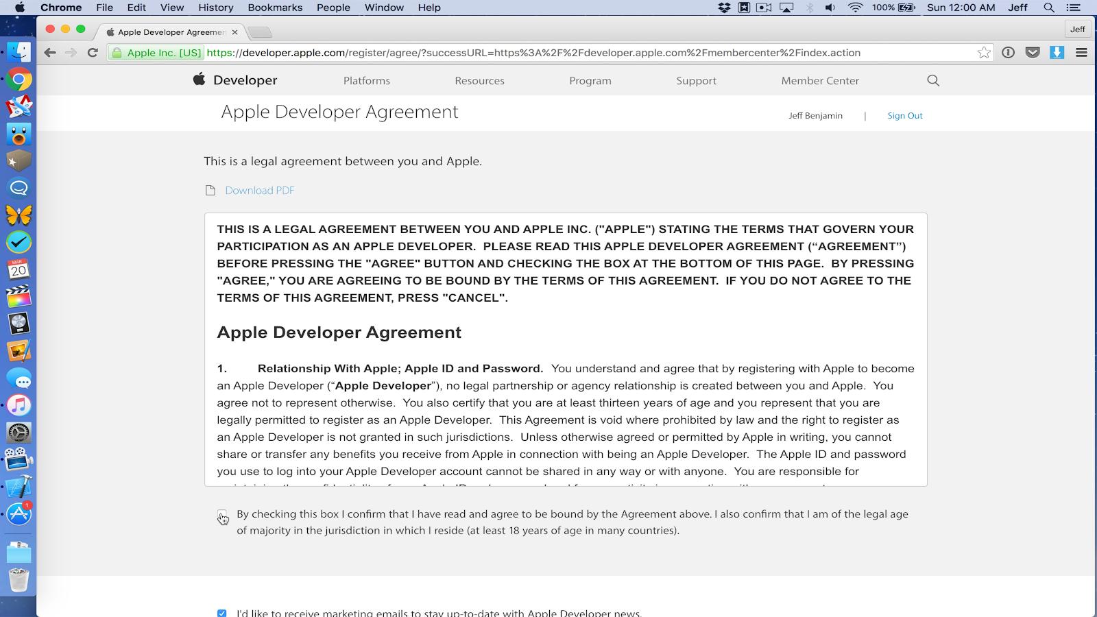 Đăng ký tài khoản Apple Developer chi tiết