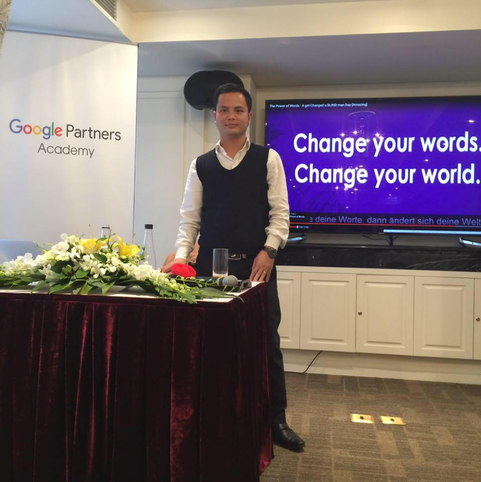 Chuyên gia quảng cáo GG Adwords kiêm CEO nanoweb Bùi Thanh Dũng