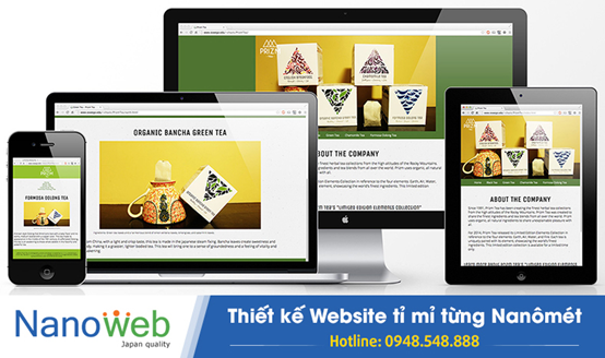 giao diện Responsive trong thiết kế website 1