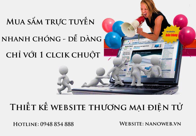 Thiết kế website thương mại điện tử ở đâu