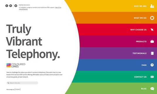 Xu hướng màu sắc cho thiết kế web 2016-9