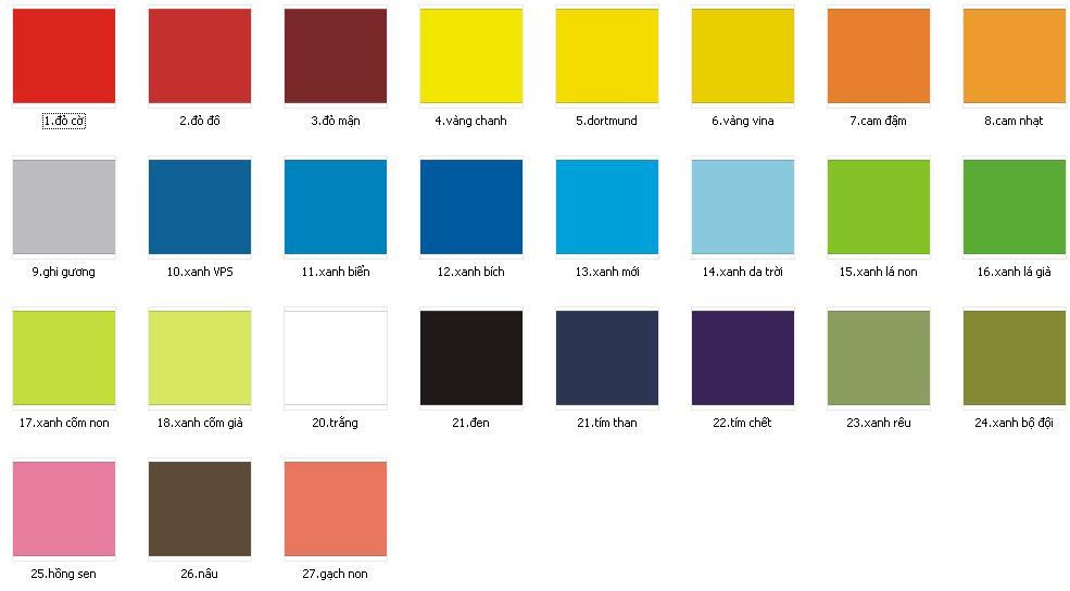 Ý nghĩa màu sắc với các thiết ké website