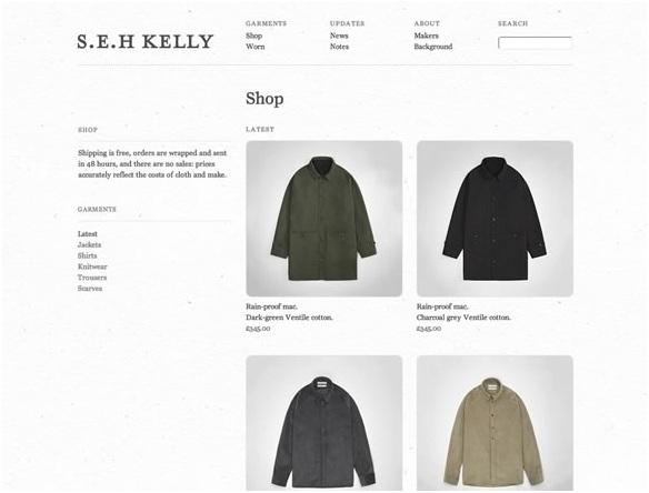14 thiết kế web bán hàng nổi bật