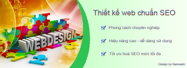 thiết kế web chuẩn seo google và chuyên nghiệp