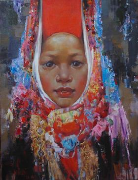 Thiếu nữ dân tộc Dao